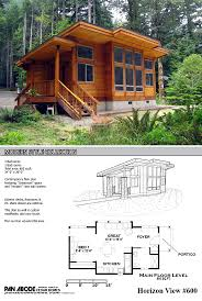 Floor Plans For One Level Homes by Best 25 Small Cabin Plans Ideas On Pinterest Small Home Plans