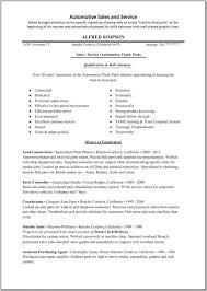 Job Resume Sample Auto Parts Sales Resume Entry Level Sales RDW