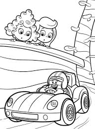 bubble guppies coloring pages cartoon cartoon coloring pages of