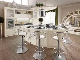 furniture swivel white countertop stools with back for kitchen