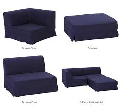 Build Your Own Sectional Sofa by Sausalito Ottoman Chair Pottery Barn Kids