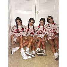 Scary Teen Halloween Costumes 25 Group Halloween Costumes Ideas Group