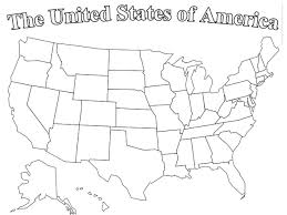 Blank State Map Of Usa by United States Labeled Map States And Capitals Of The United Usa