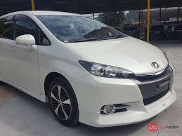 toyota wish 2013 toyota wish for sale in malaysia for rm126 000 mymotor