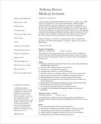 Medical Office Assistant Resume Examples by Sample Medical Assistant Resume 7 Examples In Pdf