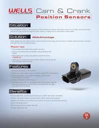 nissan altima 2005 crankshaft sensor amazon com wells su6516 engine camshaft position sensor automotive