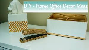 Desk Organization Accessories by Diy Home Office Accessories Ideas Youtube
