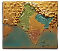 Ancient India Map by The World Author Amish
