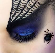 catch your prey with spider eye makeup zestymag