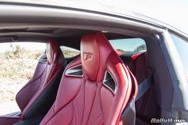 lexus rc red interior the powerhouse lexus rc f sports coupe review rallyways