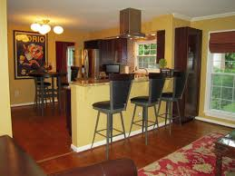 interior kitchen colors with brown cabinets for elegant kitchen