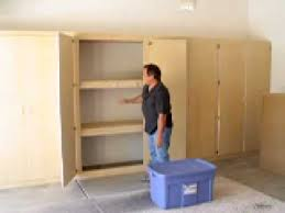 Build Wood Garage Shelves by Build Garage Cabinets Plans Roselawnlutheran