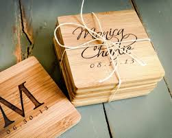 Housewarming Gift Ideas For Couple by Personalized Coasters Wedding Gift Choice Image Wedding