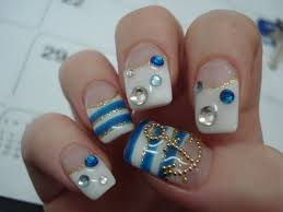 more nautical nail art design ideas marine life nail art designs