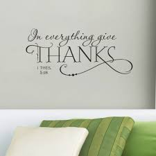 popular wall quotes stickers buy cheap wall quotes stickers lots quotes wall sticker in everything give thanks christian jesus quotes vinyl art home decal room decor