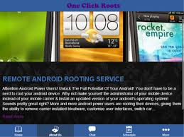 1 click roots android apps on google play