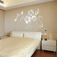 3d home decor good d printed home decor main with 3d home decor cheap ikevan set acrylic art d mirror flower wall stickers diy home wall room decals decor sofa tv setting wall removable wall stickers xcm sliver with 3d