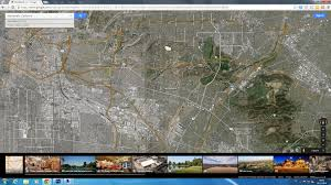 Google Maps Los Angeles by Montebello California Map