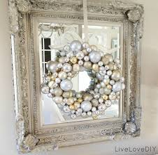 Home Interior Picture Frames by White And Silver Christmas Ideas Livelovediy How To Make A