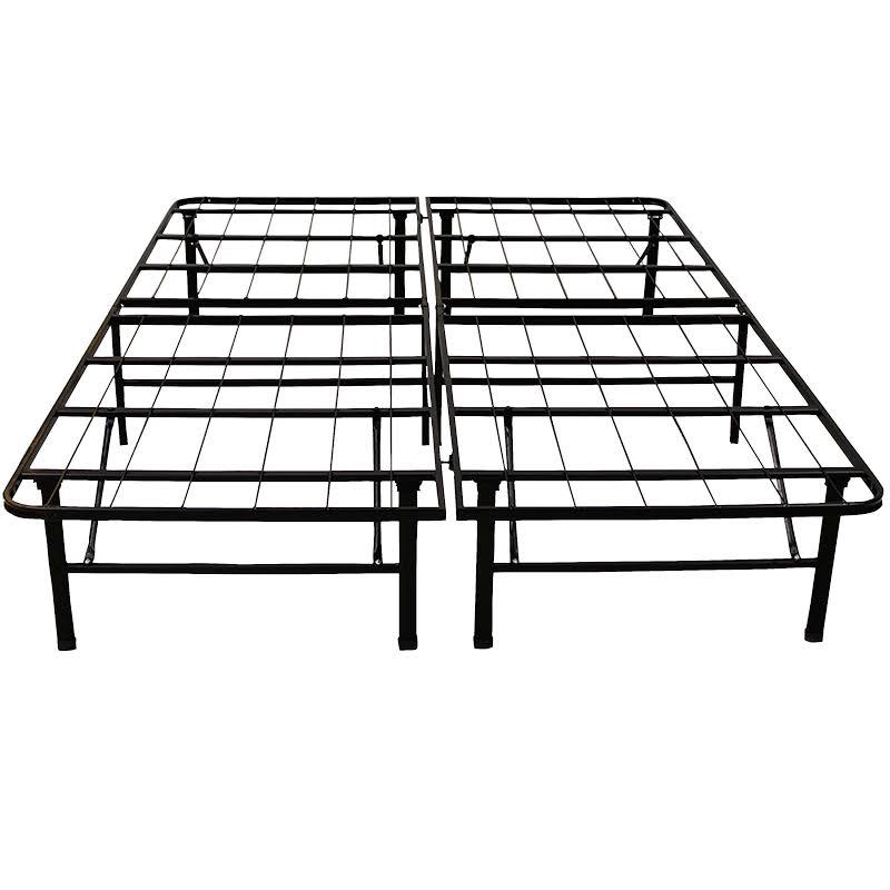 "Classic Brands Hercules 14"" Full Heavy Duty Metal Bed Frame In Black - 125001-5030"