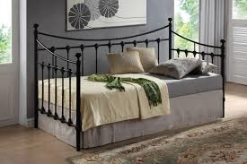 black metal day bed on the hunt