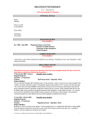 Examples Of Nursing Resumes For New Graduates Example Of Resume Cv Resume Cv Cover Letter