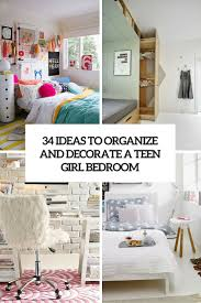 Easy Bedroom Ideas For A Teenager 34 Ideas To Organize And Decorate A Teen Bedroom Digsdigs