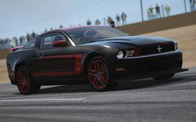 Mustang Boss 302 Black Ford Mustang Boss 302 Laguna Seca Racedepartment