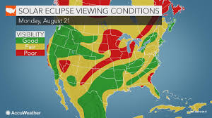 Weather Map Ohio Where Might Clouds Threaten To Block The View Of The Great