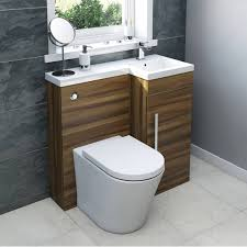 Modern Walnut Bathroom Vanity by Myspace Walnut Combination Unit Rh With Arc Btw Victoria Plumb