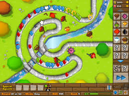 Bloons Tower Defense 5 spel
