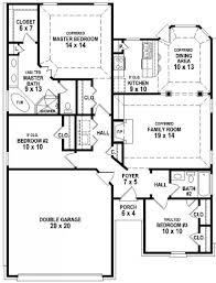 3 bedrooms 2 baths farmhouse l shaped garage plans on 3 bedroom 2