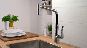 interior wonderful hansgrohe kitchen faucets with adorable summer awesome white wall and charming laminate table plus mesmerizing stainless steel kitchen sink and awesome arc