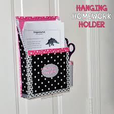 DIY Magnetic Hanging Homework Holder   Cute Decor Project   Artsy     Artsy Momma