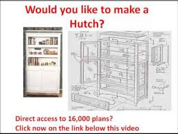 rabbit hutch plans would you like to make a hutch click here