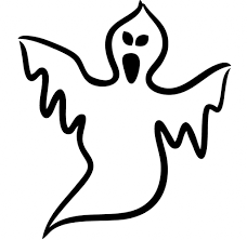halloween drawings for kids drawing sketch library