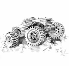 monster trucks cool video free printable monster truck coloring pages for kids