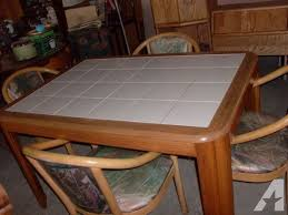 Tiled Kitchen Table by Kitchen Table Top Brucall Com