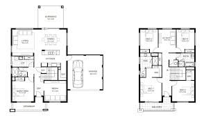 11 second floor modern 2 story house with rectangular plan for a