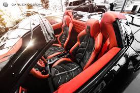 Ferrari 458 Italia Interior - carlex design ferrari 458 spider interior 7 2013 hennessey