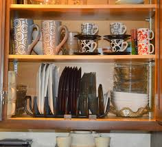 Kitchen Plate Rack Cabinet by Cabinet Plate Organizers Kitchen Plate Rack Is An Extension Of