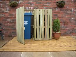 Free Wooden Garbage Box Plans by The 25 Best Garbage Can Storage Ideas On Pinterest Outdoor