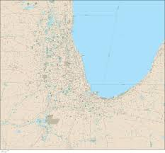 Chicago Suburbs Map Chicago Vector Map U2013 Map Resources