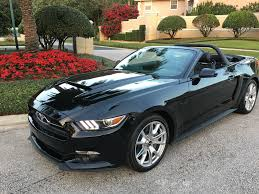 Ford Mustang Gt Black 2015 Ford Mustang Gt Conv Triple Black 50th Anniv Pkg Sold