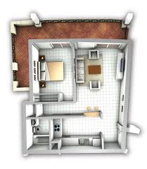 apartment efficiency apartment layout