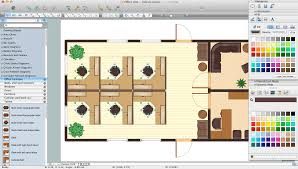 Floor Plan Layout Generator Office Layout Software Create Great Looking Office Plan Office