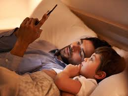 Does spending too much time on smartphones and tablets damage kids