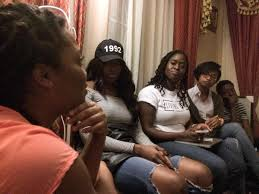 what now miami s living room project go into what the 2016 from left carron case rebecca king makisha noel and noadia doirin discuss president obama s legacy at a living room project conversation on saturday
