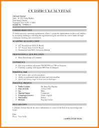 Curriculum Vitae Resume Template Format Of Cv Resume Resume Cv Cover Letter