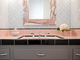 reasons to love retro pink tiled bathrooms hgtv u0027s decorating